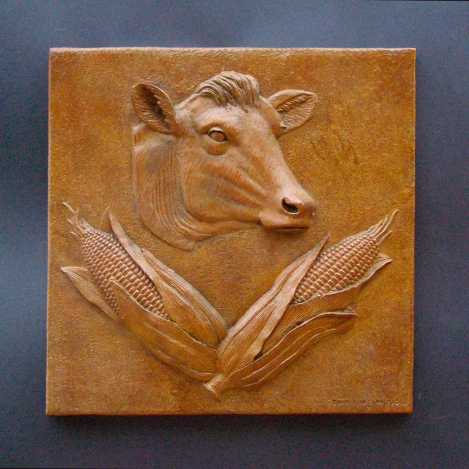 Relief-Cow